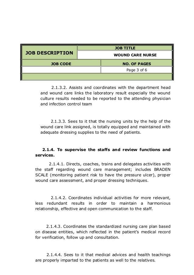 wound assessment documentation for nurses