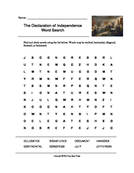 declaration of independence word document