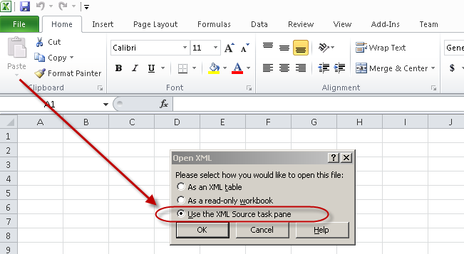 populate word document from excel vba