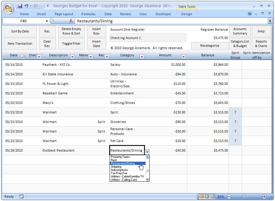 business documentation software register