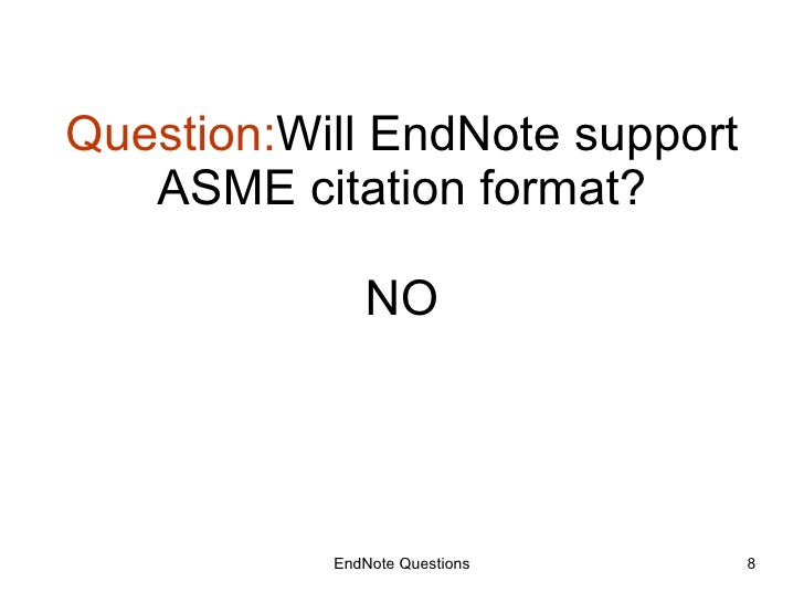 endnote bibliography in separate document