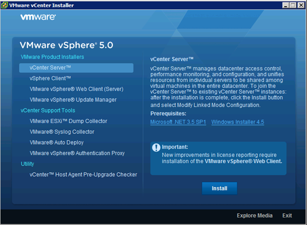 vmware vsphere 5.0 documentation center
