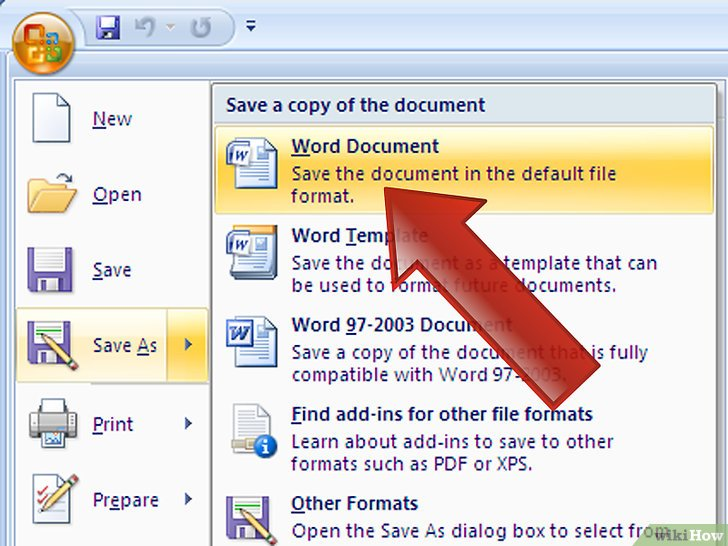 list the steps for opening a saved document