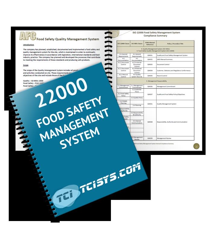 quality management system sample document