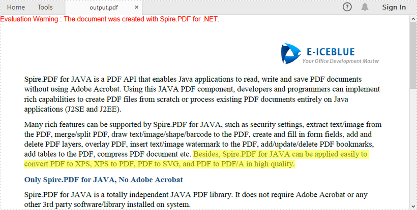 how to highlight text in a scanned pdf document