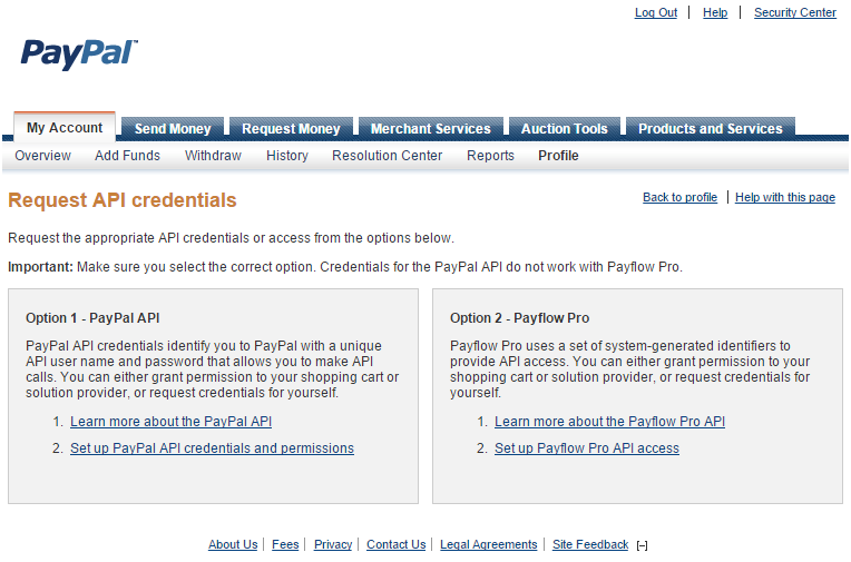 paypal api documentation pdf
