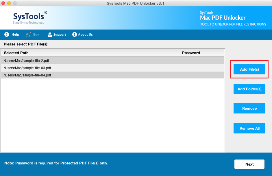 how to unsecure a secure pdf document