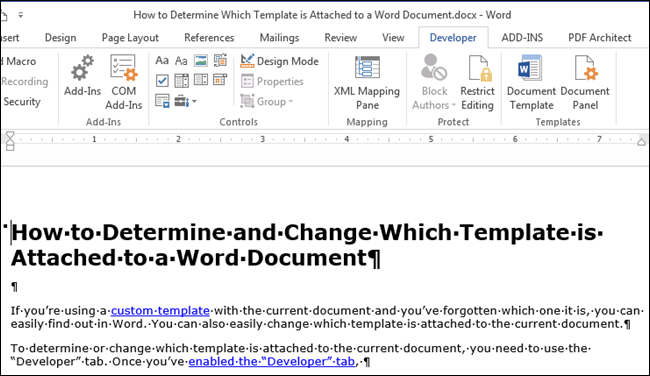 mac word change template of existing document