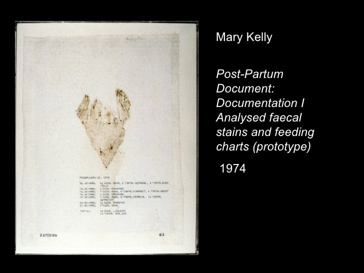 mary kelly post partum document critique