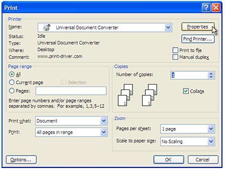 convert textedit document to pdf