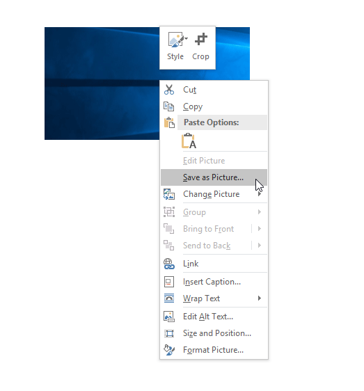 extracting pages from word document