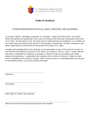 code of conduct document example