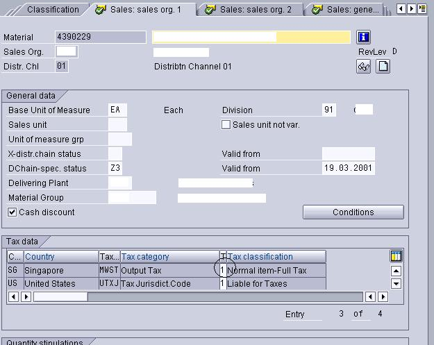 sap sd document category table