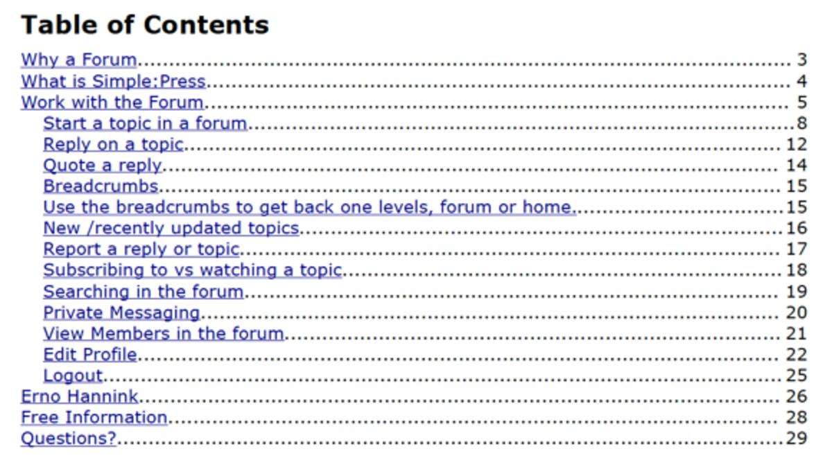 how to write a user documentation