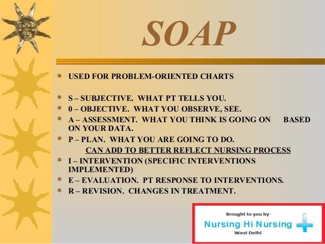 soap nursing documentation examples
