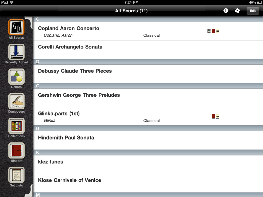 document reader and editor for ipad