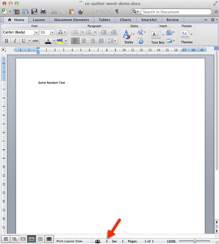 word document locked for editing by me