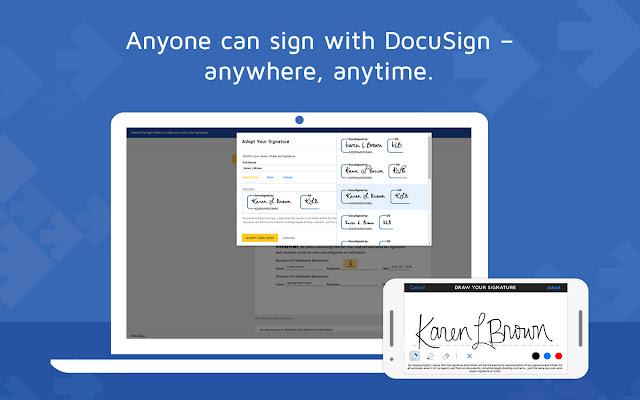 how to send a document via docusign