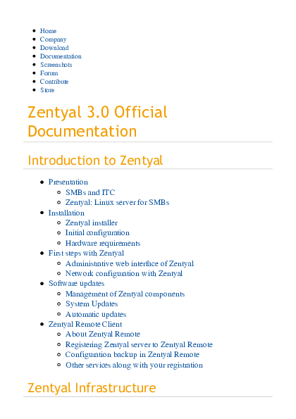 zentyal 3.0 documentation pdf