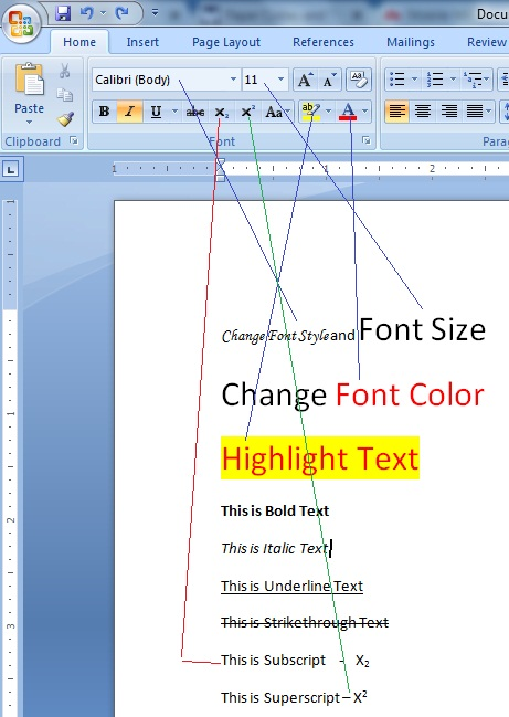 importance of formatting a word document