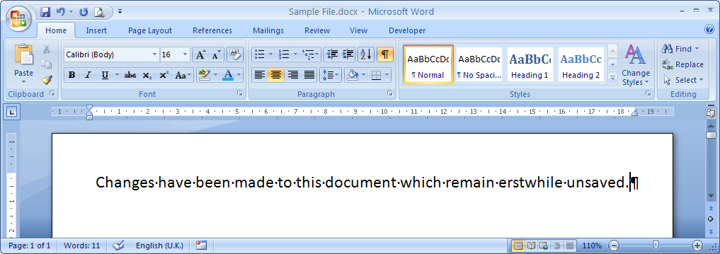 user cacher save word document