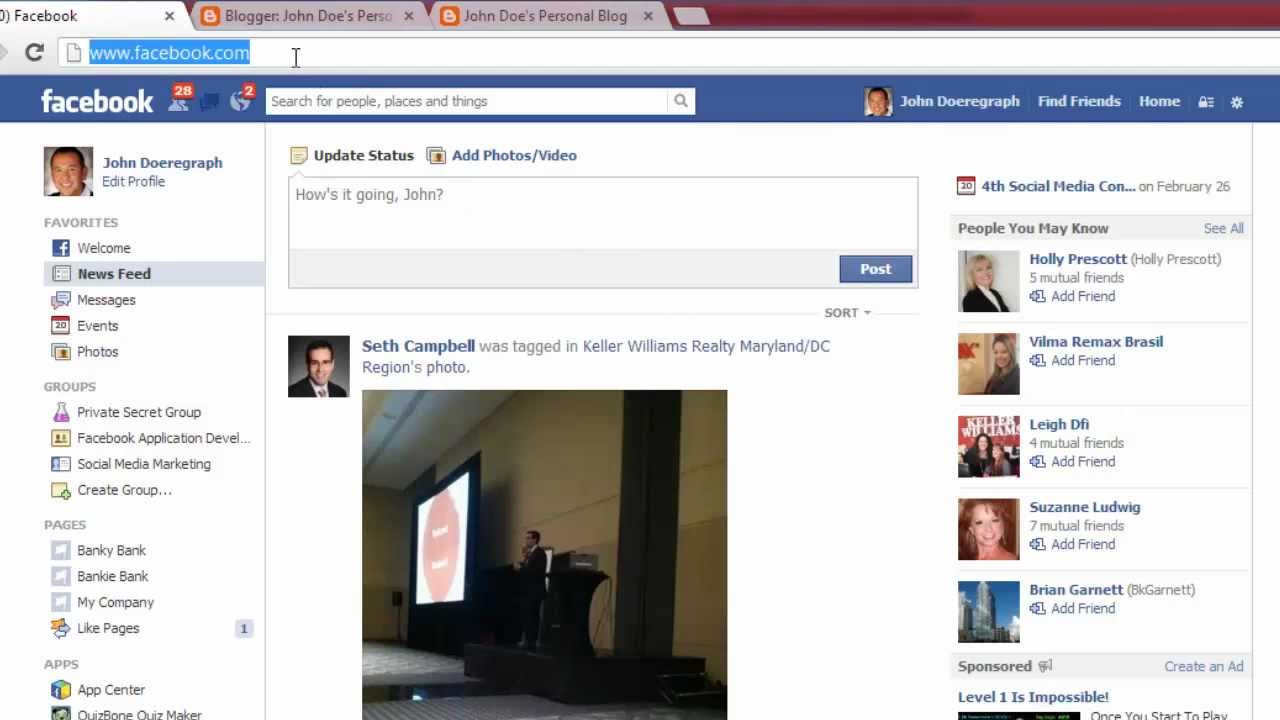 how to add a document to your facebook page