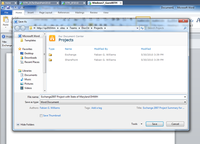 sharepoint 2010 uploading video to document library