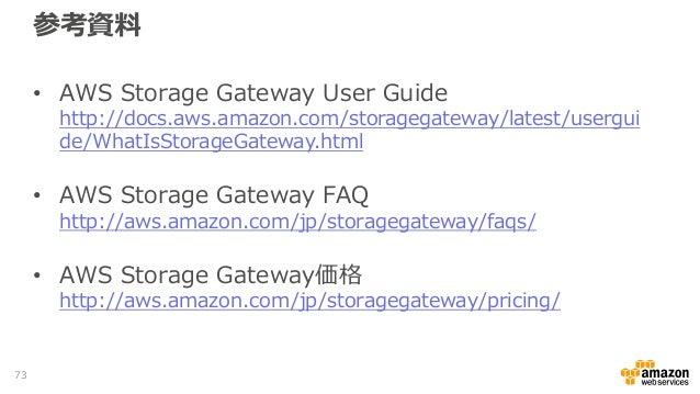 aws storage gateway documentation