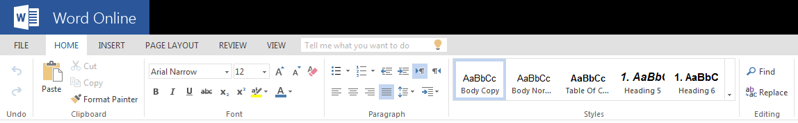 how to edit word document online