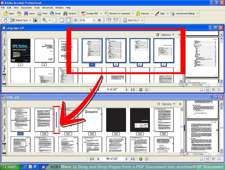 open pages document in windows