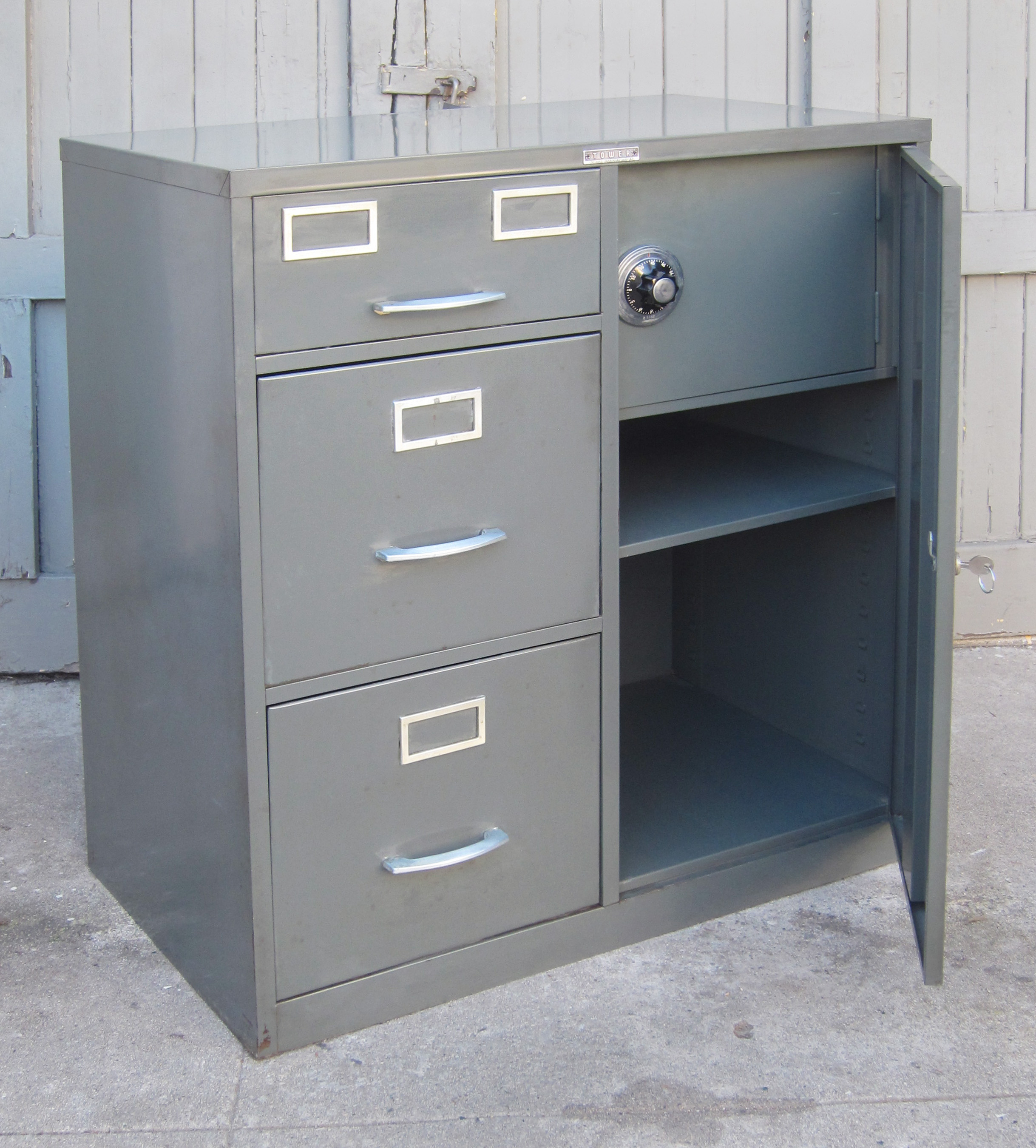 4 drawer safe for document storage
