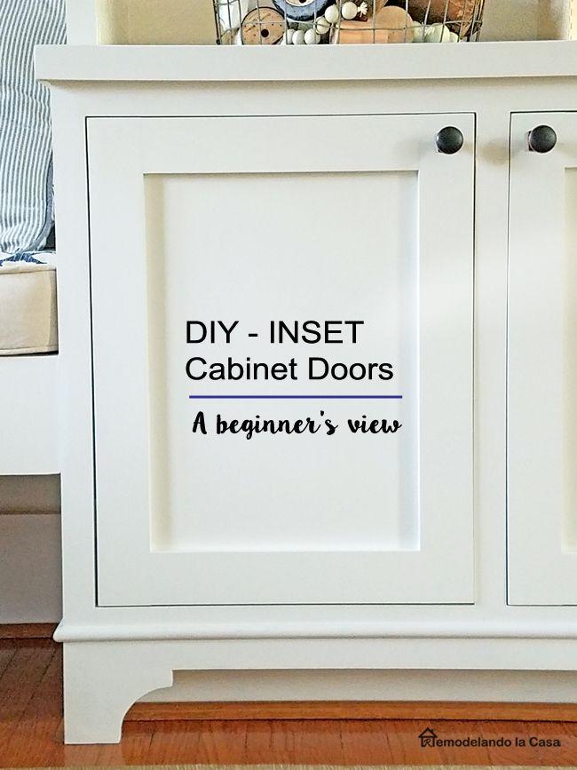 how to document recessed panel kitchen door