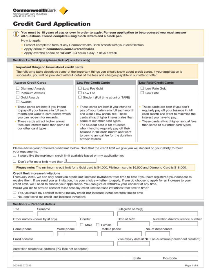 documentation apply home loan commonwealth bank