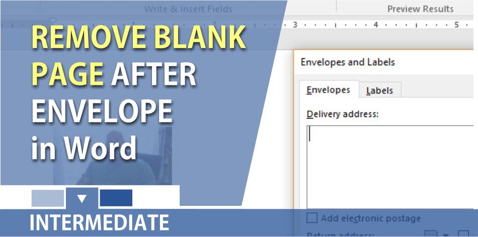 insert a blank page in word document