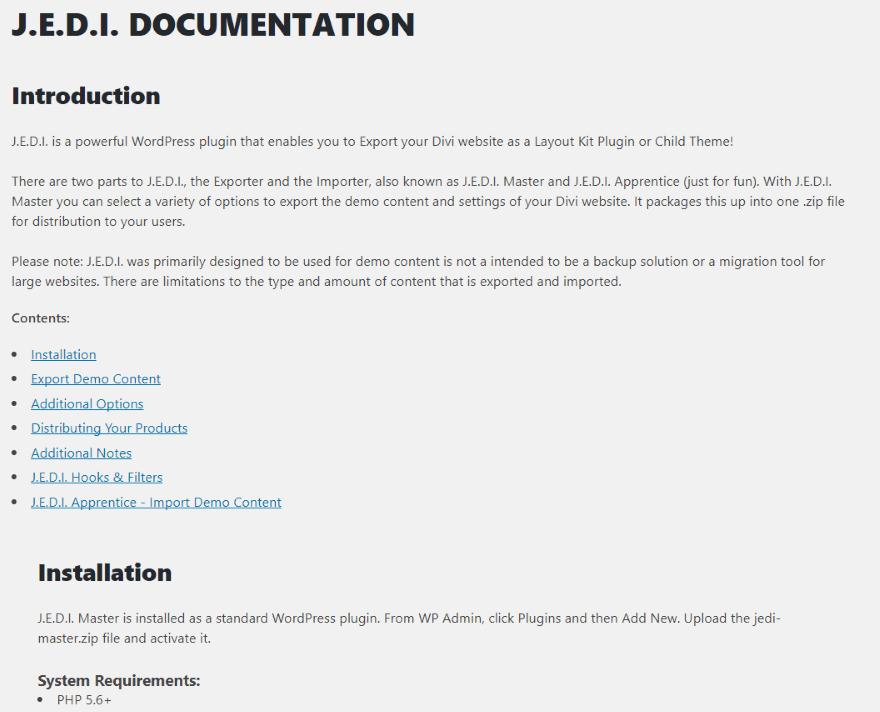 chameleon elegant themes documentation