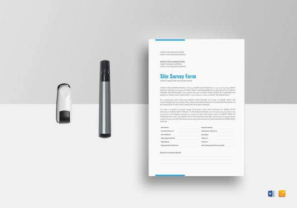 it site documentation template