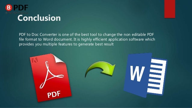 how to turn word document to pdf file