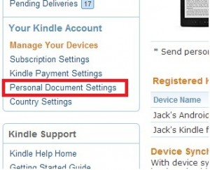word document to kindle format