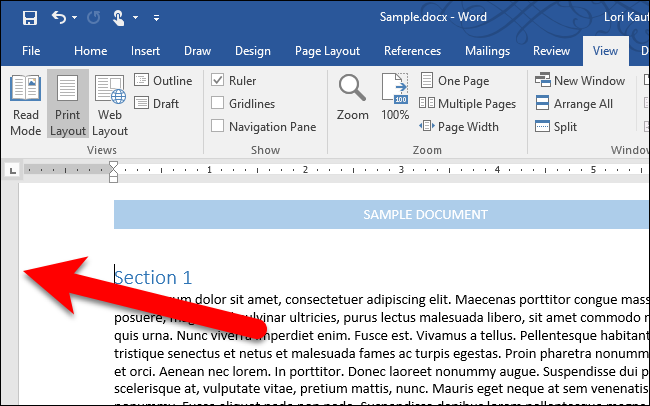 how to scale a word document