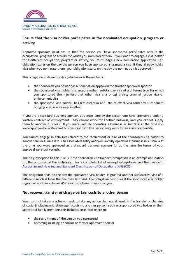 457 visa 1996 original document