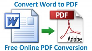 word document not converting to pdf correctly