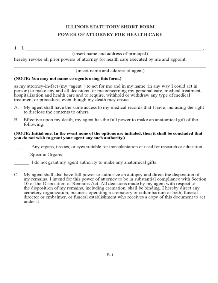 on what document should special power of attorney be made