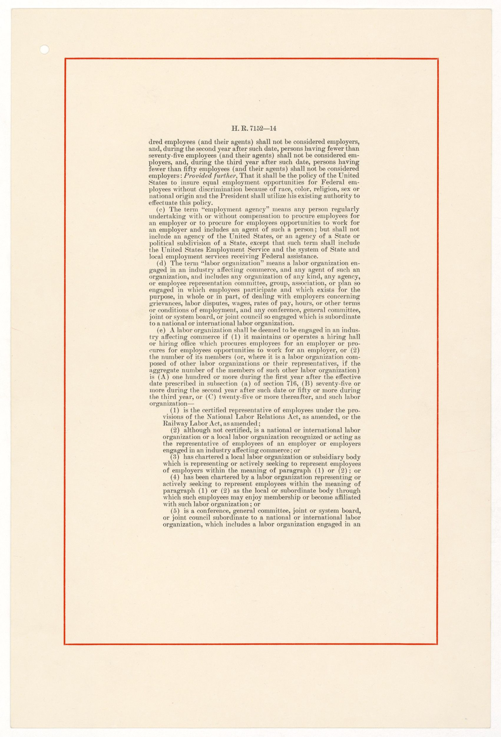 civil rights act of 1964 document