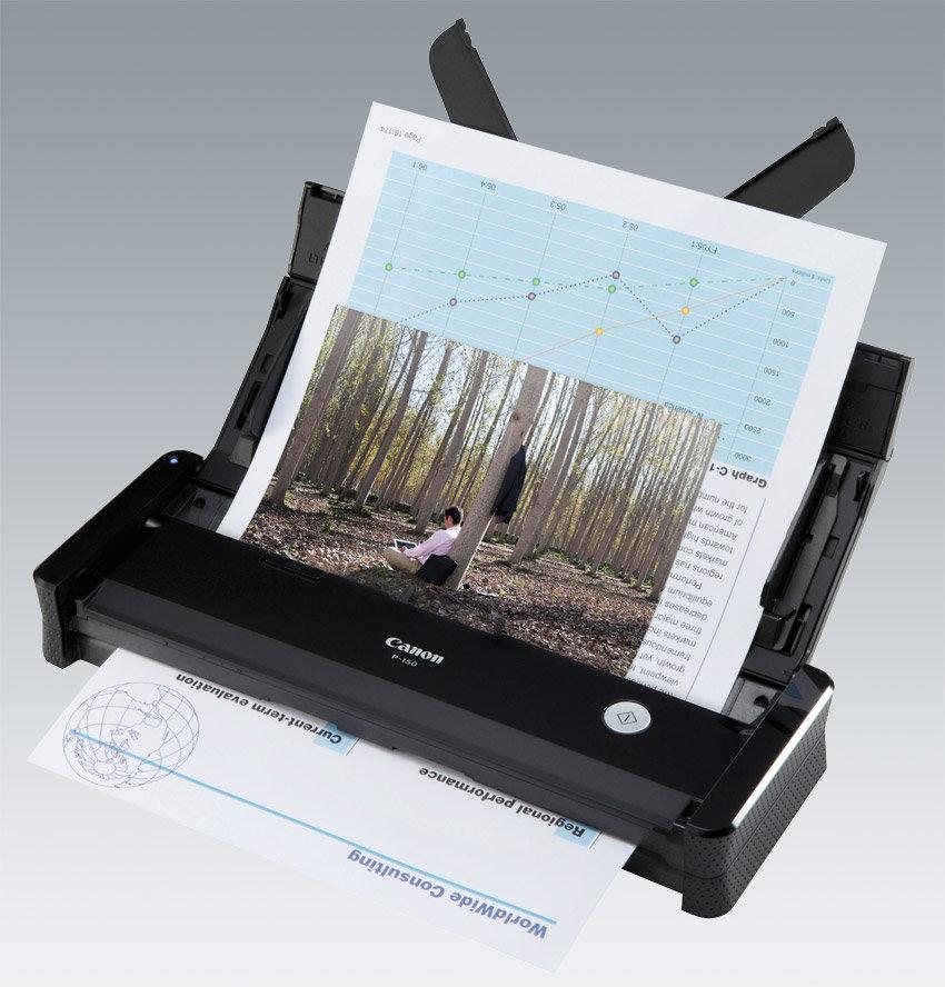 high speed scanner with document feeder