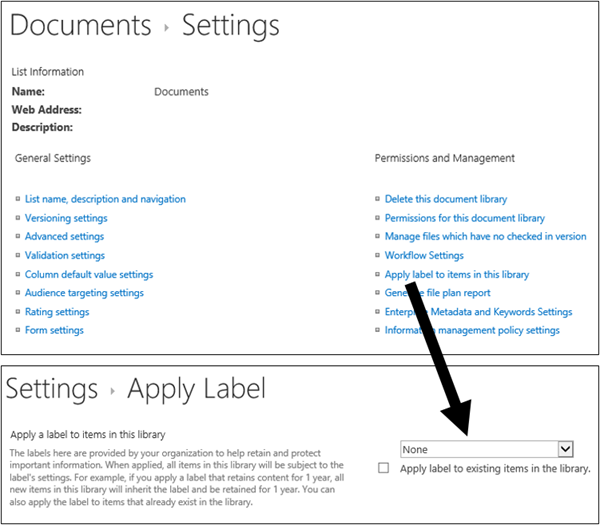 how to create a document library in office 365