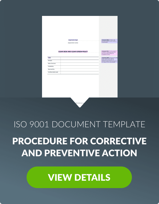 free iso 9001 document management software