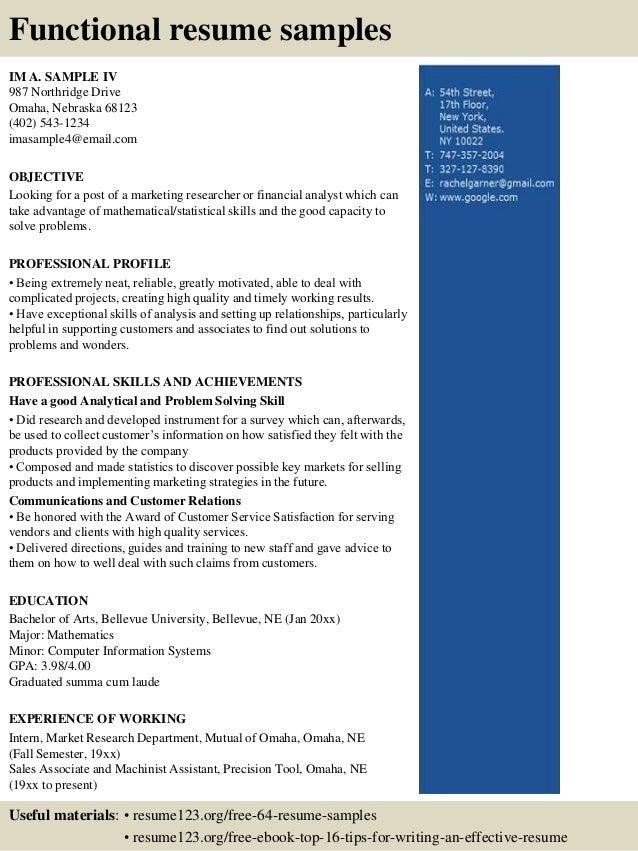 best document format for resume