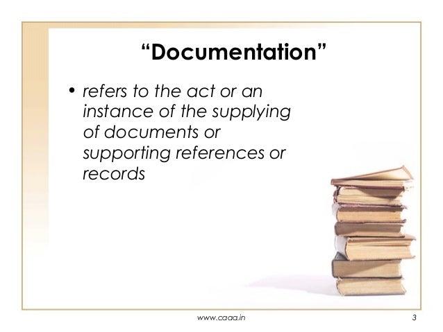 purpose of audit documentation