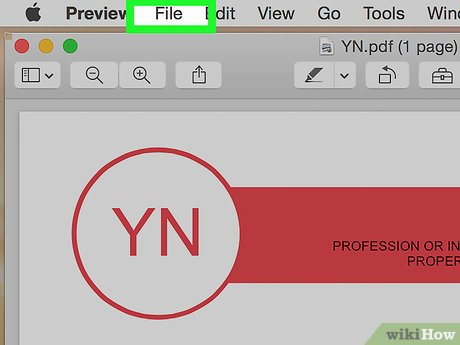 wikihow how to save a word document in pdf