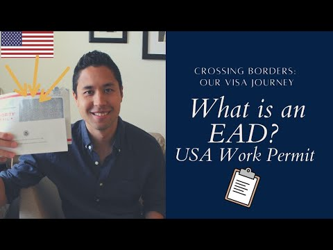 what is employment authorization document ead number